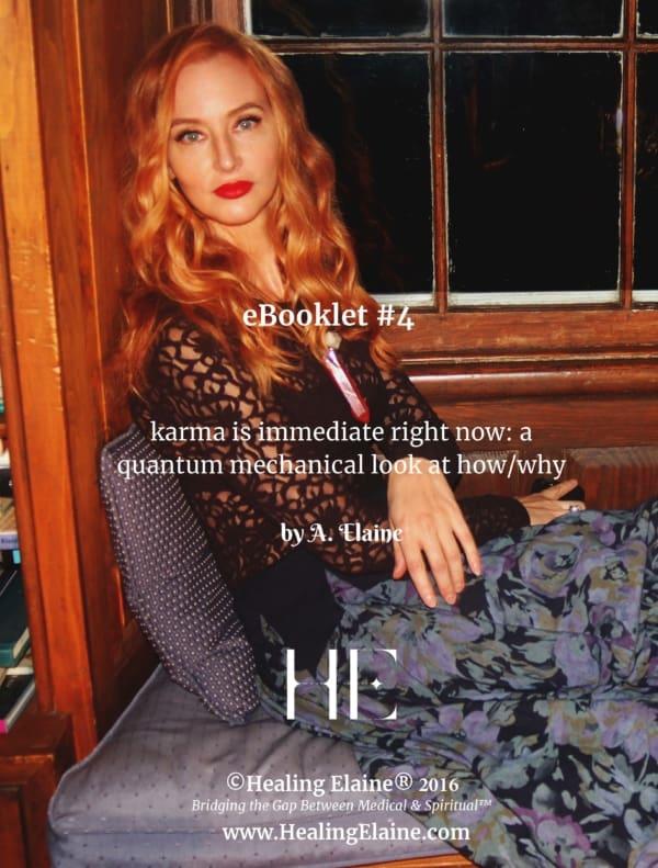 Karma is immediate