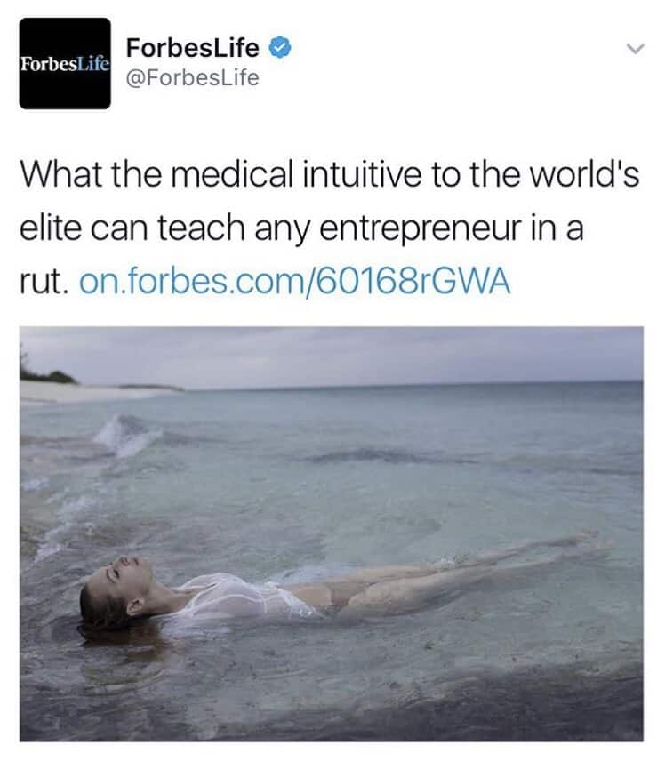 Aryn Elaine Healing Elaine® in Forbes Magazine @ForbesLife @Forbes